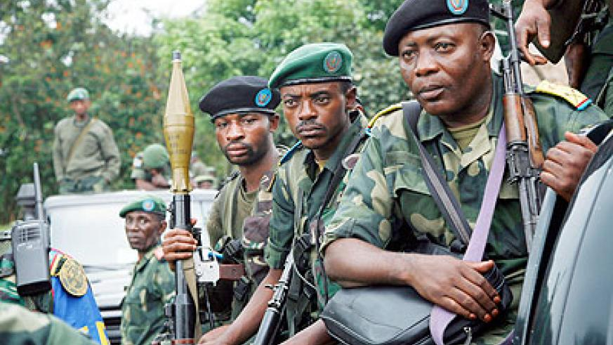 Congolese troops are notorious human rights violators. Yet Human Rights Watch has conveniently turned a blind eye to these abuses, mainly targeted at Rwandophones. Net photo.