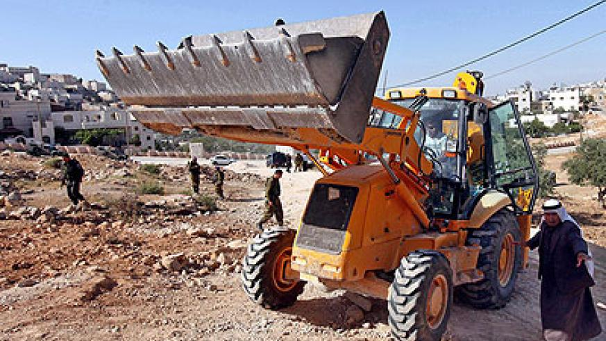Israel has made a major push on settlement building in the occupied West Bank since July 30. Net photo.