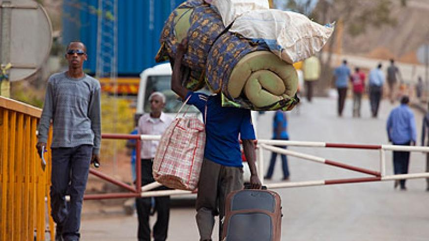 About 4,000 Rwandans have been received in Kirehe District after being evicted from the Kagera region in the north-western part of Tanzania since last week.  The New Times/Timothy Kisambira.