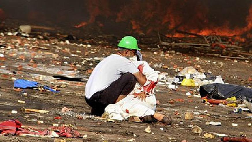Reports of casualty figures have varied widely. Net photo.