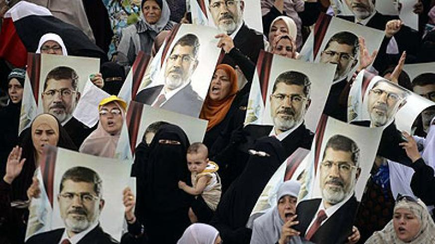 Morsi supporters plan to match in Cairo. Net photo.