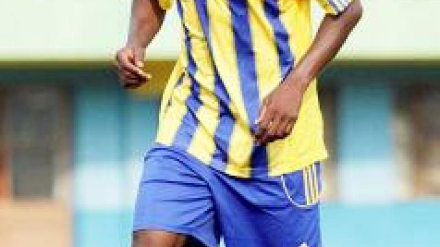 Dady Birori is hoping that AS Vita Club will not stand in his way of realizing his childhood dream of playing professional football. Saturday Sport/File.