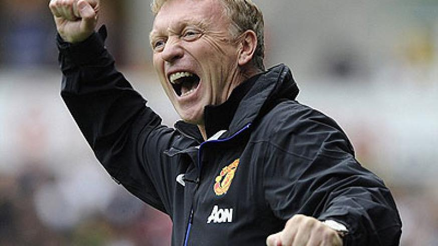 David Moyes's reign as United manager got off to the perfect start following a 4-1 victory. Net photo.