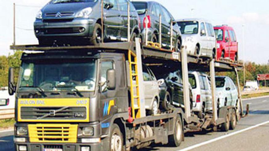 Government banned the importation of right hand drive cars in 2009. File photo