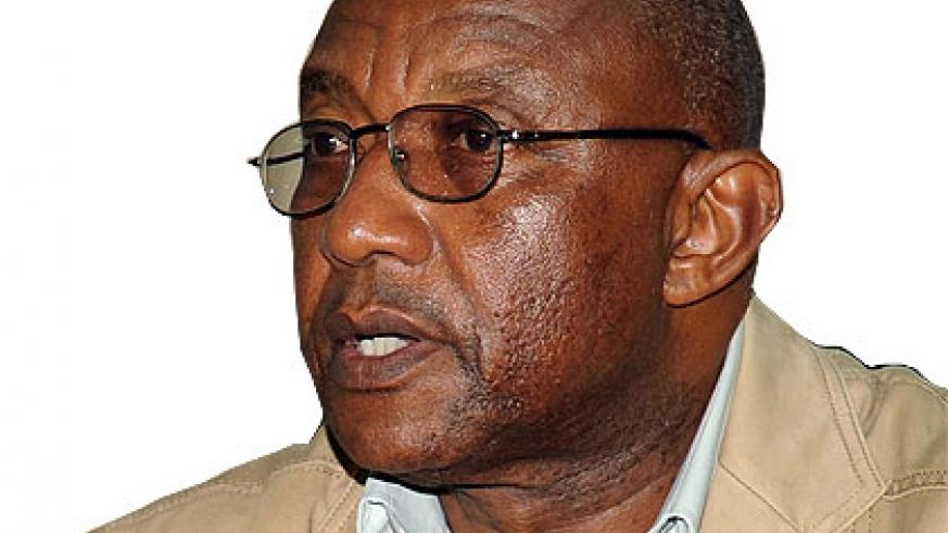 NEC chief Prof. Kalisa Mbanda says all is set for the September 16 parliamentary polls. The New Times/ John Mbanda.