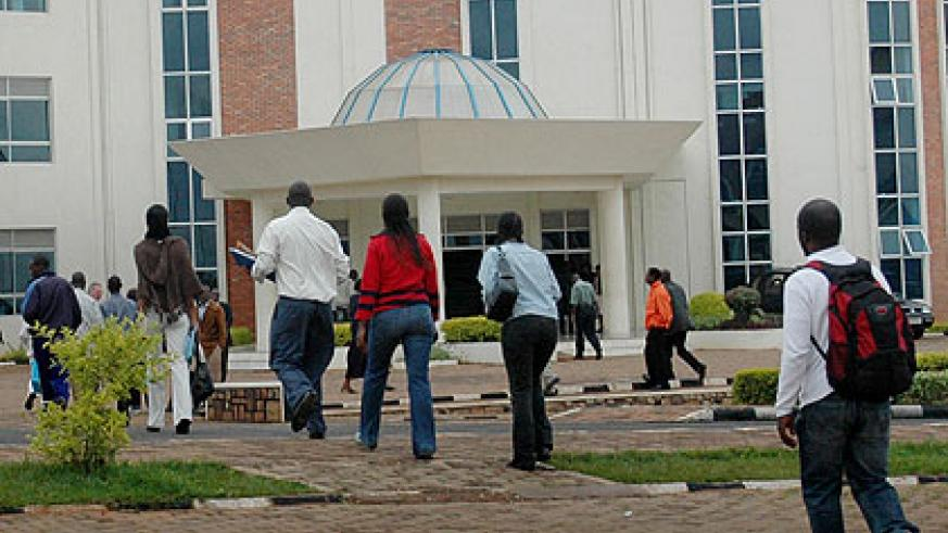 Webometrics ranked Kigali Institute of Science and Technology (KIST) at 171st place in Africa and 8,559 globally. The New Times/ File.
