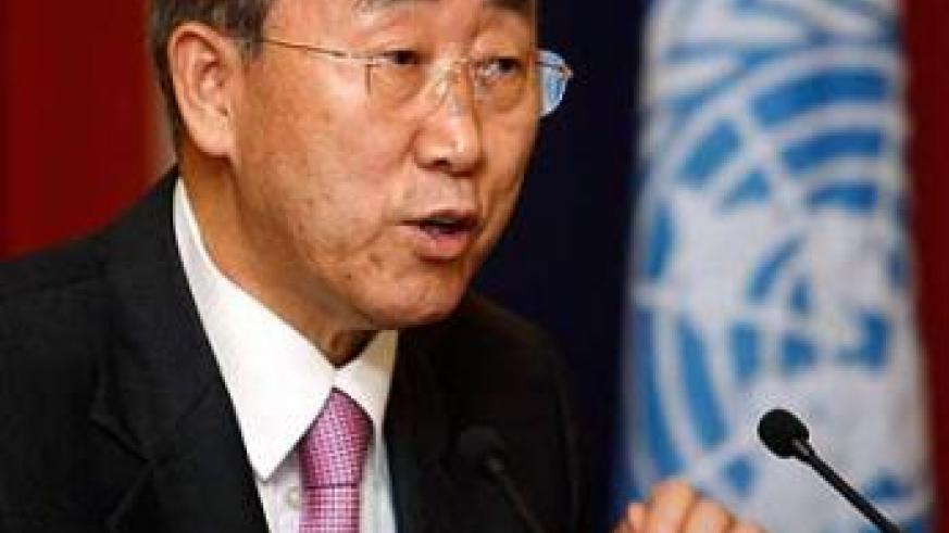 Ban Ki-moon, UN Secretary-General.