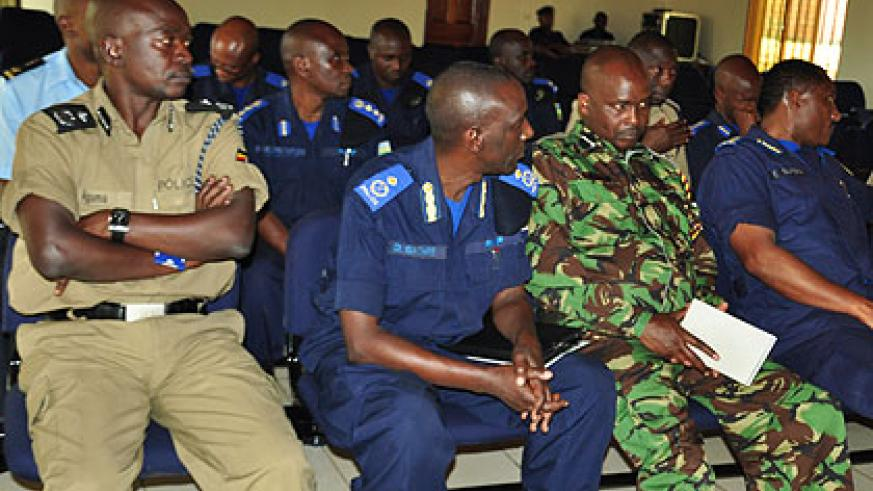 Some of the senior officers from 12 African countries that will be passed out tomorrow.   Saturday Times/Courtsey.