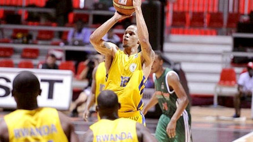 Kenneth Gasana scored a game high 22 points but it wasn't enough to help Rwanda in the defeat against Morocco on Friday. Saturday Sport/ Courtesy.