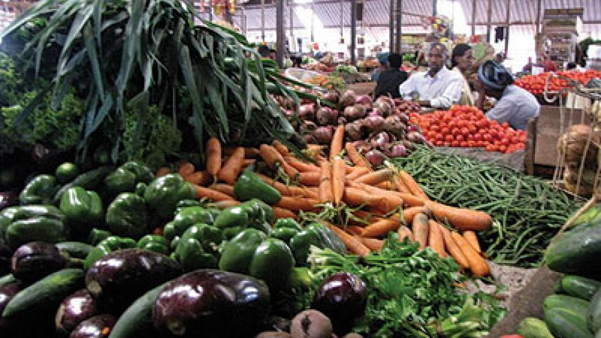 Prices for most commodities are stable across the city markets. The New Times / File photo The New Times / File photo
