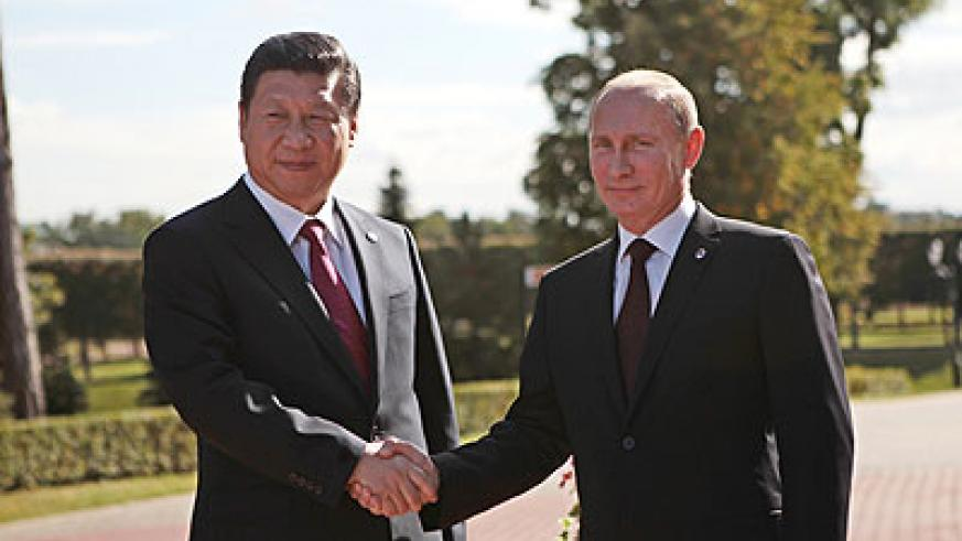 Russia and China have both publicly opposed the use of military force against Syria under current conditions. Net photo.