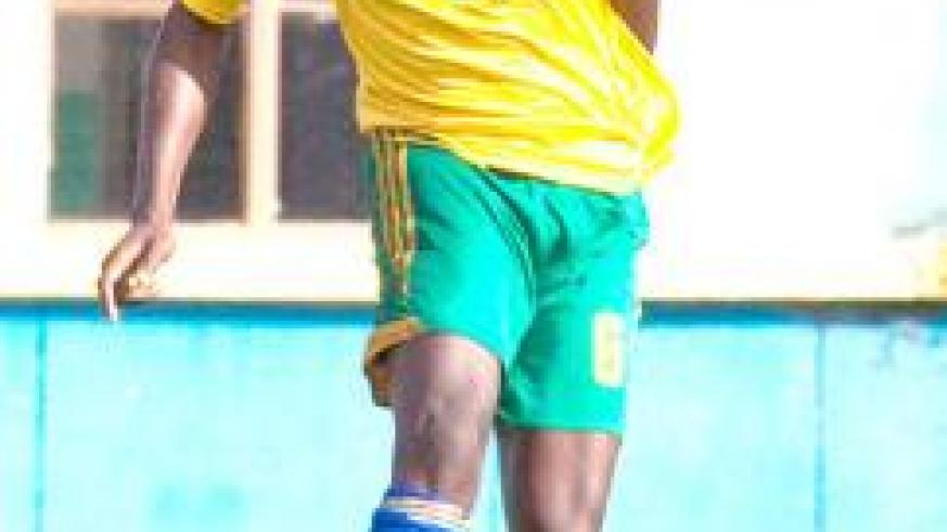 Salomon Nirisarike could not do much in defence as Amavubi climaxed their 2014 qualification campiagn routed bottom of Group H with two points.