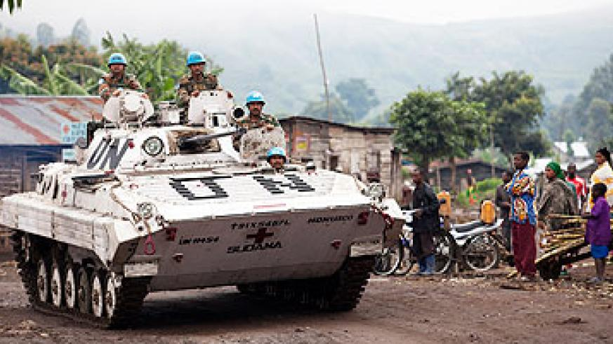Monusco forces in Congo. Net photo