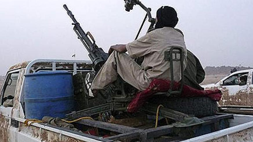 Tuareg rebels have picked up arms three times since independence in 1960. Net photo.