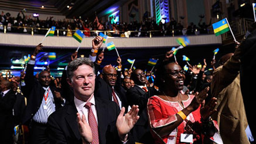 A cross section of participants during the London edition of Rwanda Day in May, 2013. The New Times/Village Urugwiro.
