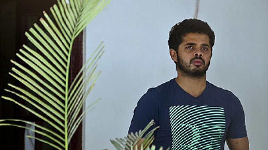 Test fast bowler Shanthakumaran Sreesanth has been banned from cricket for life after being found guilty of spot-fixing. Net photo.