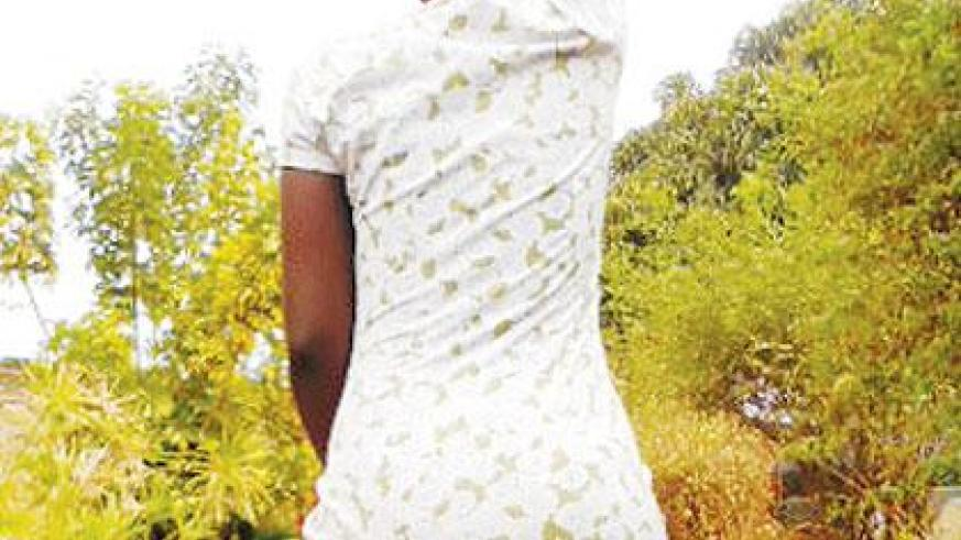 Desperation forced Uwimana to try out prostitution to earn a living. Sunday Times/Moses Opobo