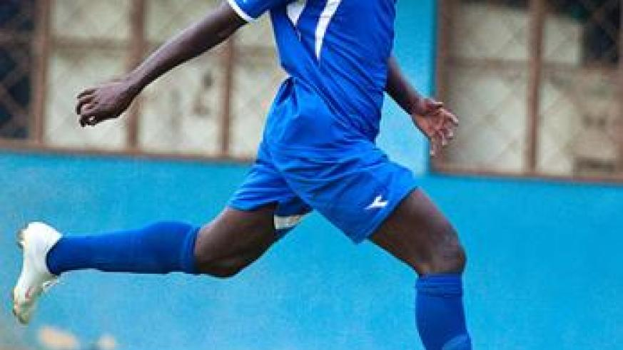 Midfielder Aphrodis 'Kanombe' Hategekimana will lead Rayon Sports against fellow Southern Province rivals Mukura in the second semi-final. Satrurday Sport/File.