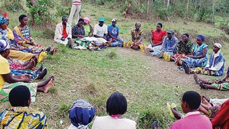 About two years ago, 30 residents came together in Busoro village, Gishamvu sector, and started a group they named Turwanye Ubukene. Sunday Times/Jean-Pierre Bucyensenge