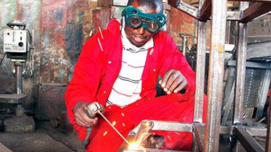 Under EDPRS II, the government looks to empower the youth with employable skills to boost their chances getting jobs, as well as becoming entrepreneurs. File photo