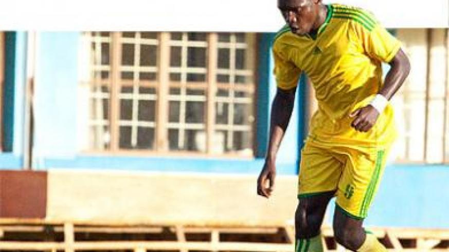 Former Police and AS Kigali striker has signed a two-year deal with SC Kiyovu. Times Sport / File.