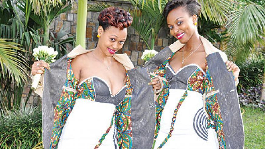 Iraguha designed all the outfits that were worn on his wedding day himself. Sunday Times/Moses Opobo