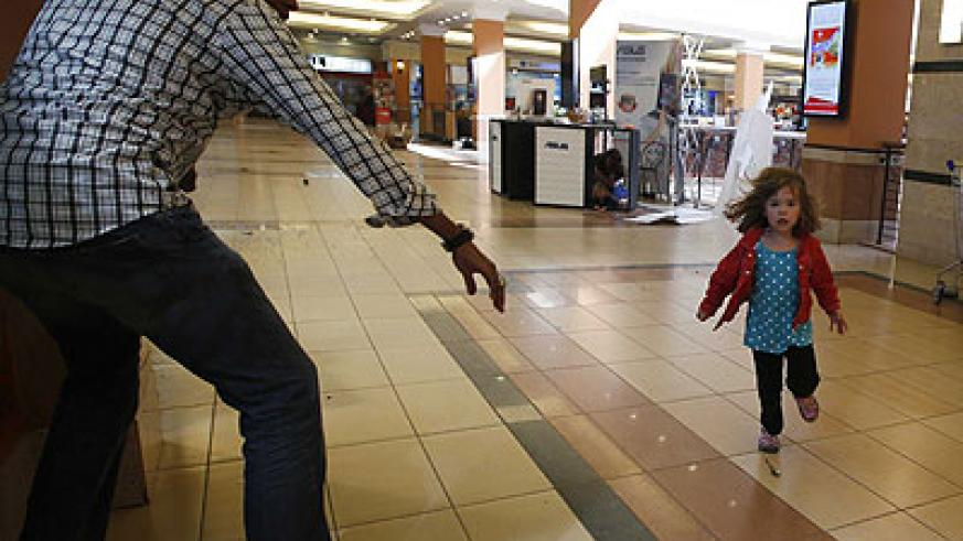 Abdul Haji, the hero who rescued many people during the  infamous Westgate terror attack in the Kenyan capital Nairobi on September 21, tries to save a kid in the wake of the attac....