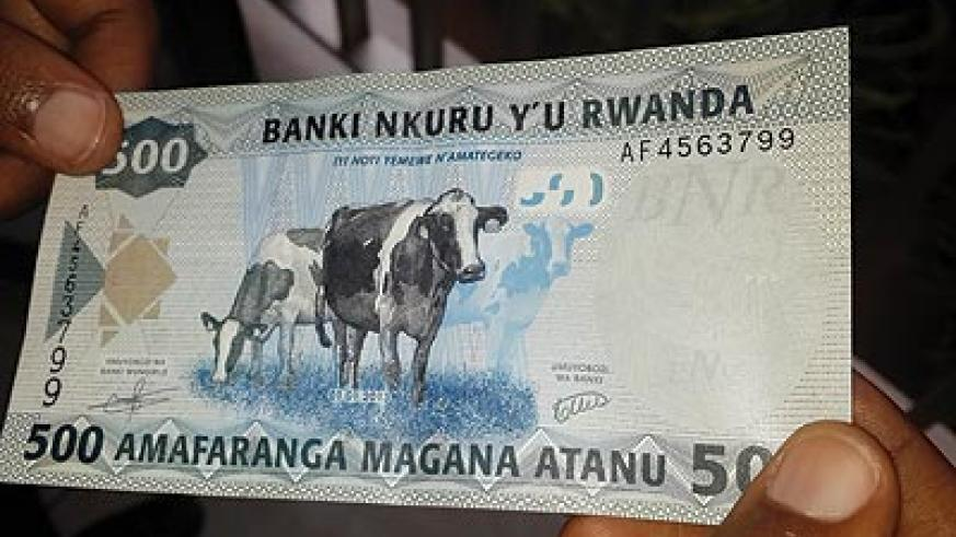 VALUE WOES: The Rwanda Franc has lost close to 4 per cent value against the US dollar since the beginning of the year. The New Times / File