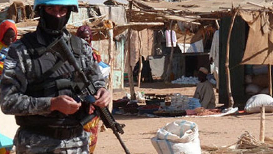 The UN-African Union mission in Darfur, UNAMID, has not identified the group behind the latest attack. Net photo.