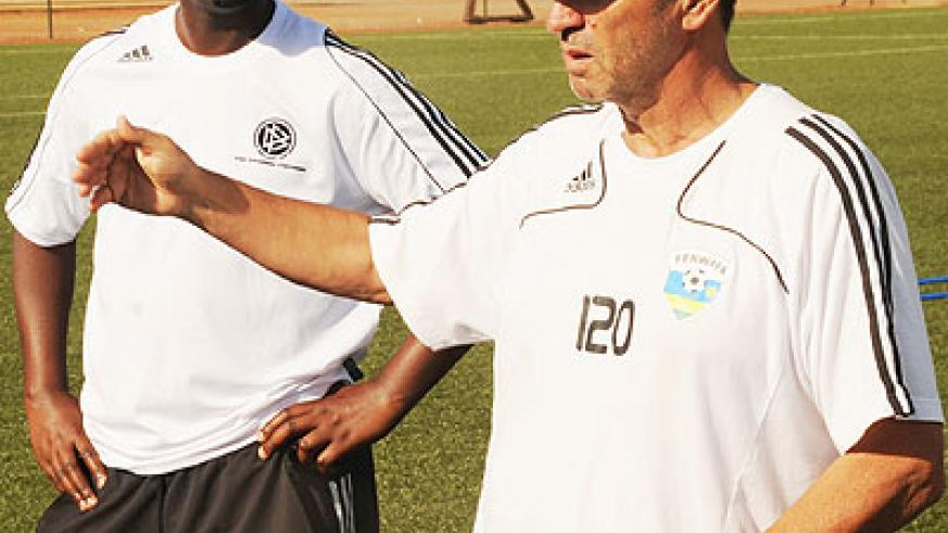 Richard Tardy and Vincent Mashami did a fantastic job the last time out when the selected the U-17 team qualified for the 2011 Fifa World Cup. Saturday Sport/ File.