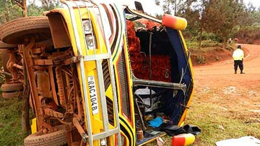 50 injured in Kayonza District road accident | The New Times | Rwanda
