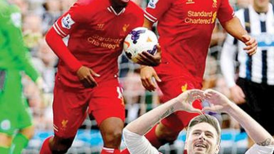 Liverpool fans will be hoping Luis Suarez and Daniel Sturridge can get the club in the top four. Net photo