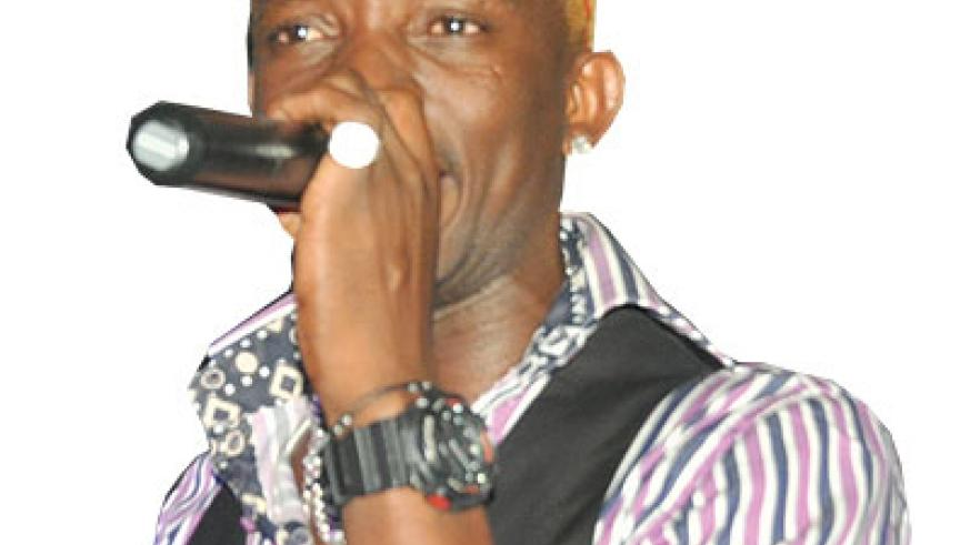 Big Fariouz performing during the Burundi Night. The New Times/ Courtesy