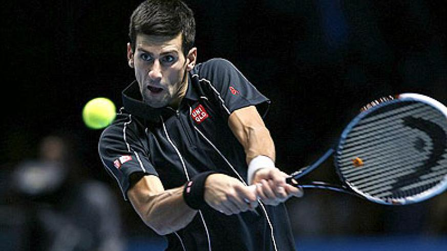 Djokovic won 6-3, 3-6, 6-3 to secure his place in the semi-finals. Net photo