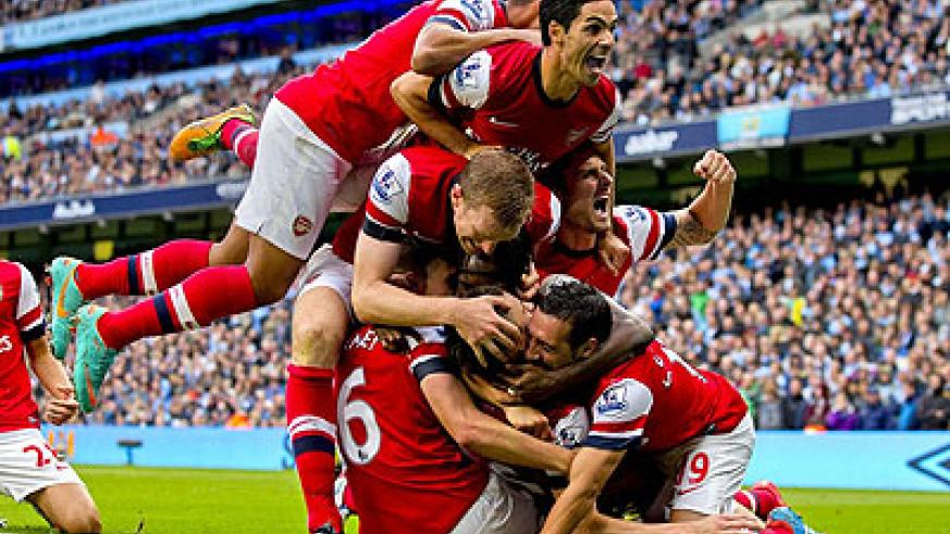 Arsenal can steal a march on their title rivals this weekend by opening up a seven-point gap at the top of the Premier League. Net photo