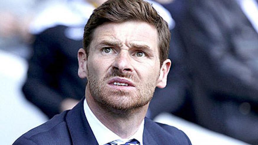 Villas-Boas' position as Tottenham manager came under scrutiny following last week's 6-0 defeat at Man City. Net photo.