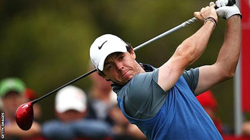 Rory McIlroy two behind Adam Scott at Australian Open. Net photo