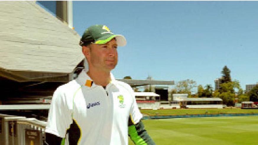 Michael Clarke is the ICC Cricketer of the Year. Net photo