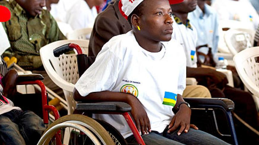 HVP is bridging the gap of centres for PLWD in the country with now five HVP centres up and running in Rwanda. Sunday Times/File