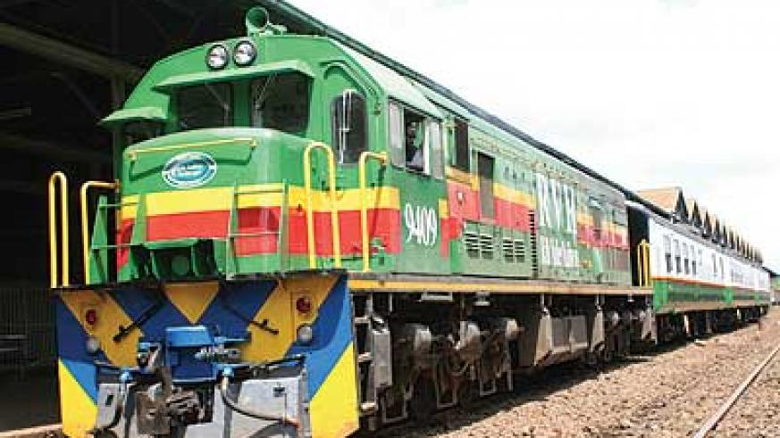 Building a standard gauge railway to link the EAC countries is one of the development projects on the cards. The New Times / File