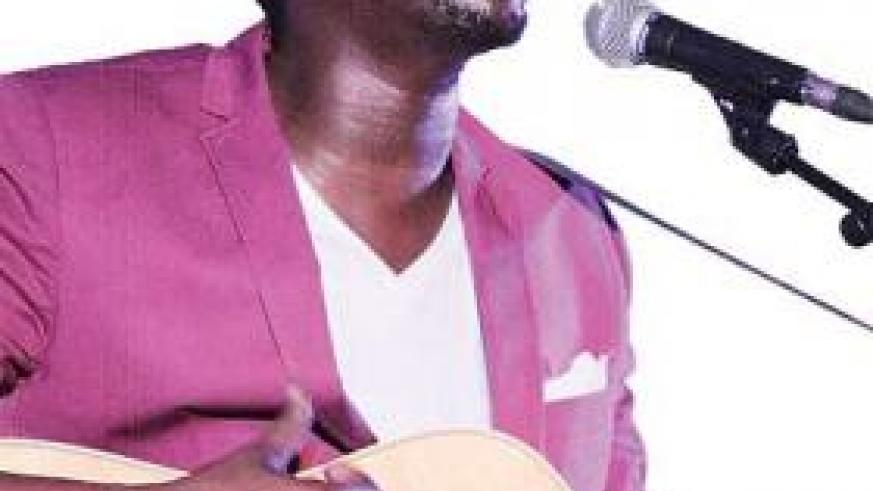 Jali sings his heart out. The New times /  Plaisir Muzogeye.