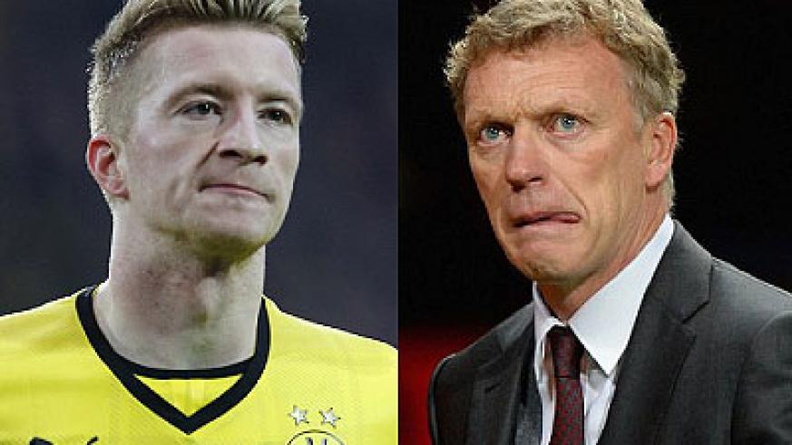 Moyes is desperate to sign Borussia Dortmund's Marco Reus. David Moyes has endured a difficult first season at Old Trafford. Net photo.