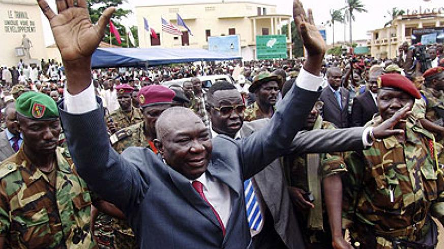 Michel Djotodia, CAR president  is expected to resign to pave way for return of peace in his country. Net photo.