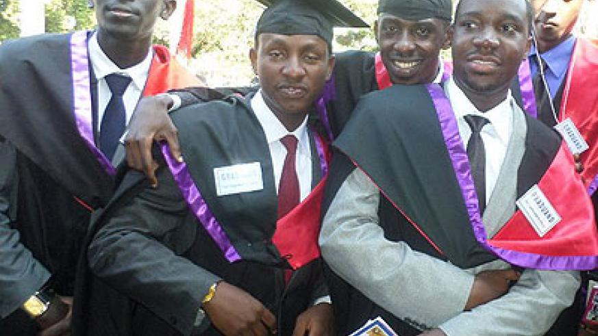 Very many students graduate with the hope of doing what they are pasionate about after. The New Times/ I. Ngoboka