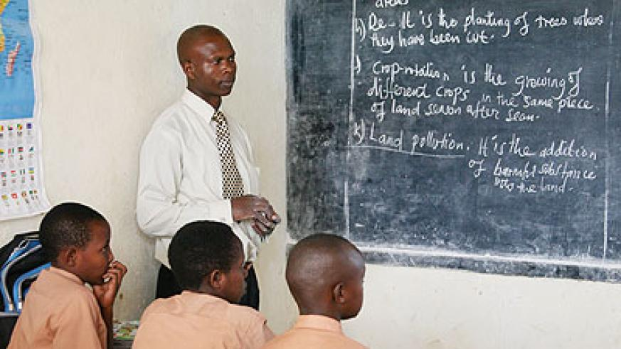 Teachers are encouraged to integrate various aspects of language in order to equip learners with appropriate skills. /Education Times/File photo