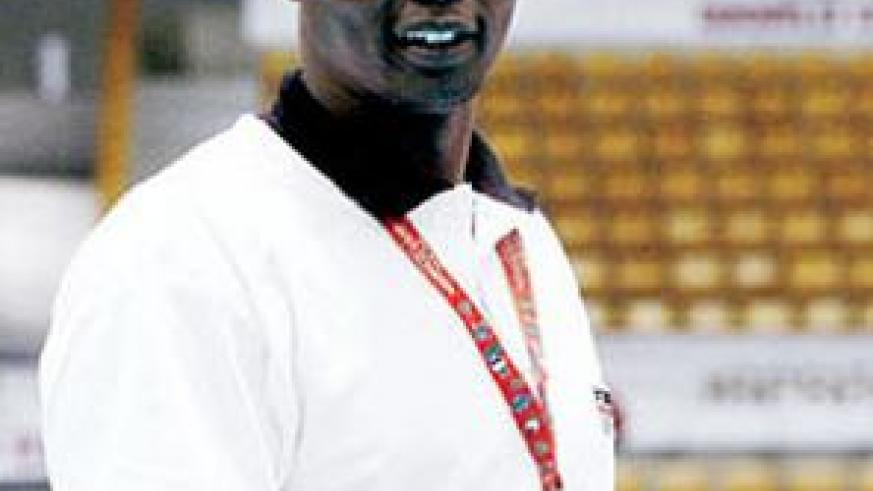 National team coach Paul Bitok