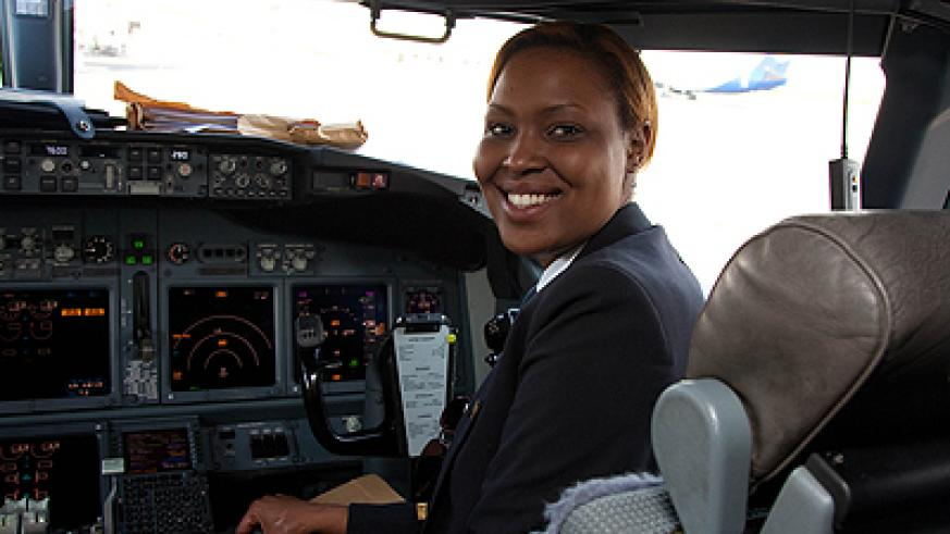 If for instance you want to become a pilot like this lady, you must among other things love aeroplanes and read a lot about them. Education Times/Timothy Kisambira