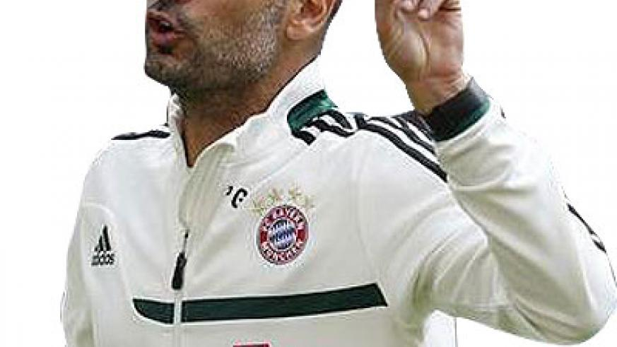 Guardiola says Bayern cannot afford to take their eye off the ball. Net photo