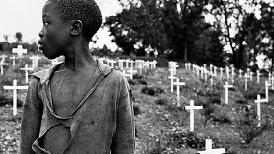Genocide left so many orphans. Rwandans have vowed never again to genocide. Net photo.