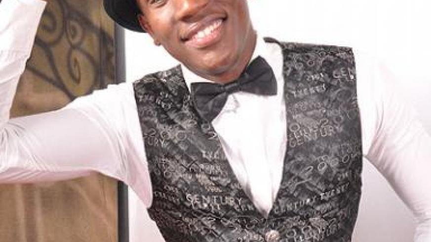 Christopher Muneza in an undated photo. He is  gearing up for his first album launch. The New Times / File
